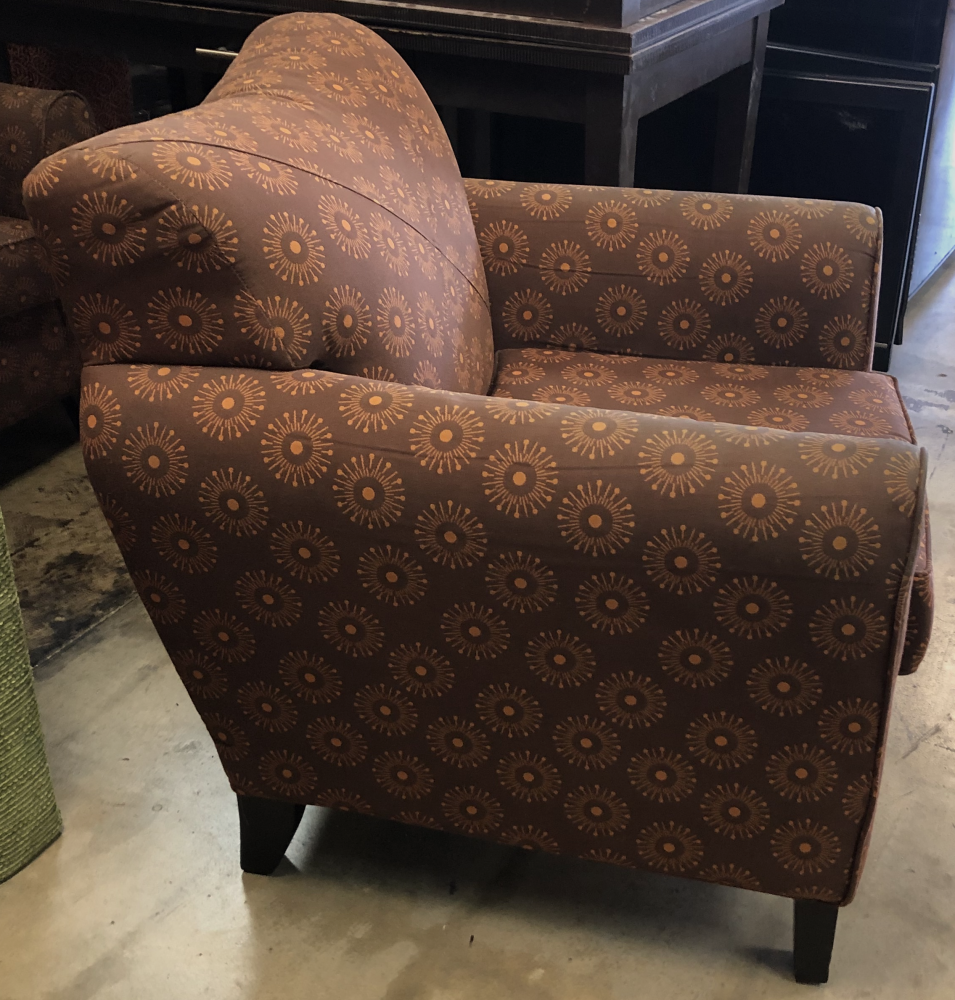 Brilliant Brown Orange Accent Chair Hlw Discount Furniture Gmtry Best Dining Table And Chair Ideas Images Gmtryco