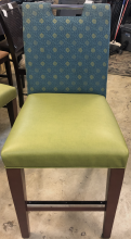 chair_pub_green_bottom_blue_flower_print_back_front_of_chair