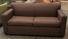 sofa_queen_sleeper_brown_stripes_front