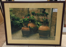 picture_pottery_flowers_brick_bldg