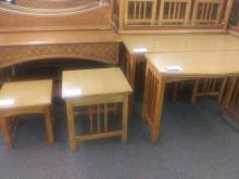 Lovely, Light Wood Accent Tables