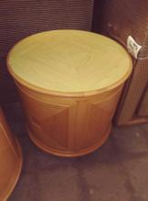 Sturdy Round Drum Table