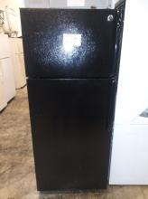 GE Energy Star Black Refrigerator