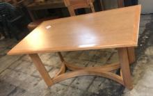 Blonde Wood Dining Table